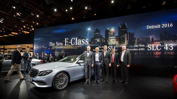 Mercedes-Benz auf der North American International Auto Show 2016