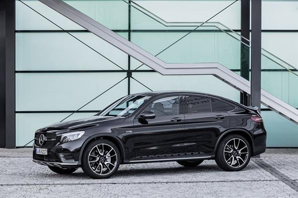 Das neue Mercedes-AMG GLC 43 4MATIC Coupé