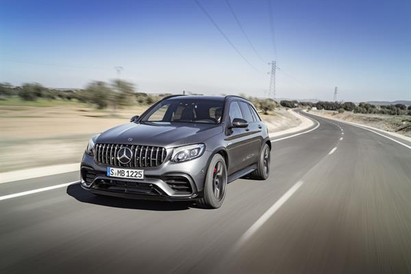 Mercedes-AMG GLC 63 4MATIC+ und GLC 63 4MATIC+ Coupé