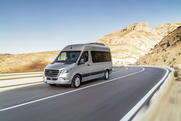 Der neue Mercedes-Benz Sprinter Tourer
