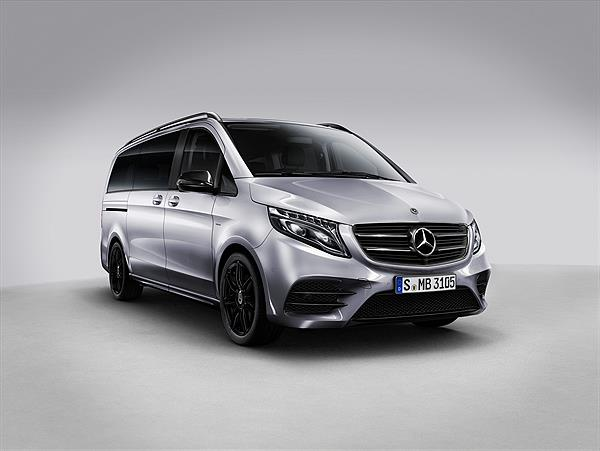 Die Mercedes-Benz V-Klasse Night Edition
