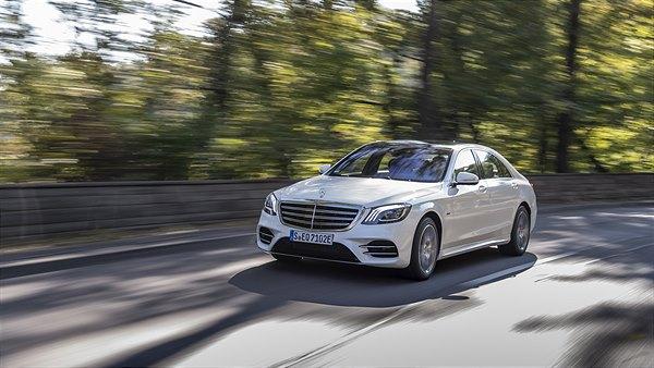 Der neue Mercedes-Benz S 560 e