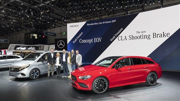 Mercedes-Benz Cars auf dem Genfer Automobilsalon 2019