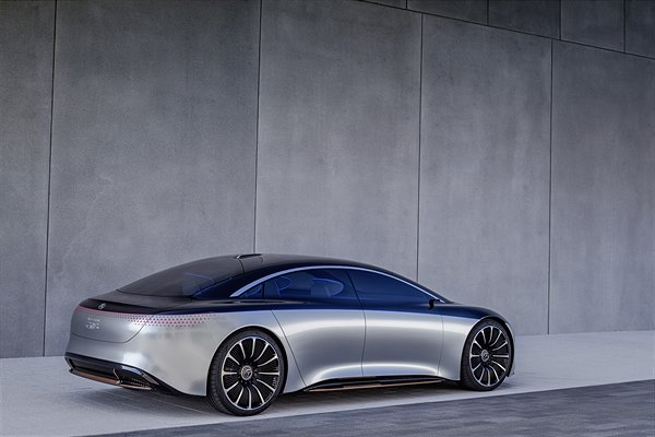 Showcar Mercedes-Benz VISION EQS